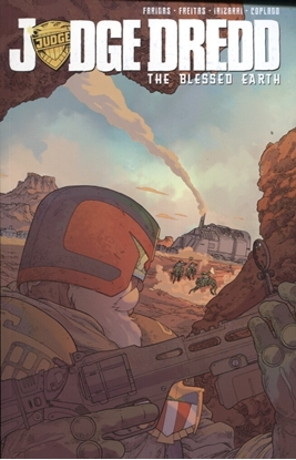 Picture of JUDGE DREDD BLESSED EARTH TPB VOL 1