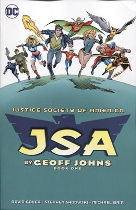 Picture of JSA BY GEOFF JOHNS TP BOOK 01