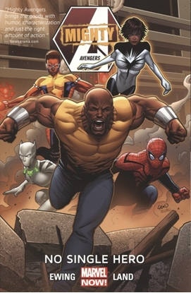 Picture of MIGHTY AVENGERS TP VOL 01 NO SINGLE HERO