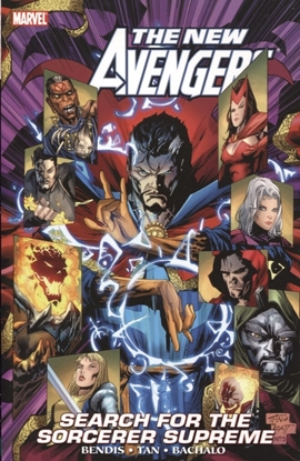 Picture of NEW AVENGERS TP VOL 11 SEARCH FOR SORCERER SUPREME