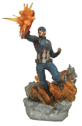 Picture of MARVEL MILESTONES CIVIL WAR MOVIE CAPTAIN AMERICA STATUE