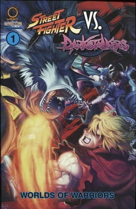 Picture of STREET FIGHTER VS DARKSTALKERS TP VOL 1