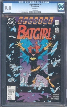 Picture of BATGIRL SPECIAL (1988) #1 CGC 9.8 NM/MT WP (3787)