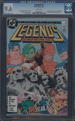 Picture of LEGENDS (1986) #3 CGC 9.6 NM+ WP (3826)