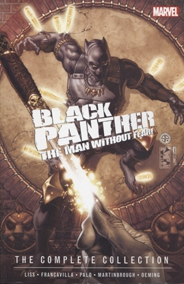 Picture of BLACK PANTHER MAN WITHOUT FEAR COMPLETE COLLECTION TP