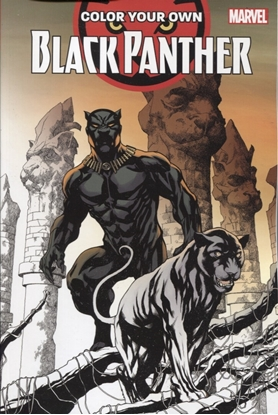 Picture of COLOR YOUR OWN BLACK PANTHER TPB