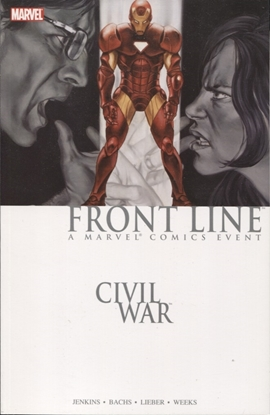 Picture of CIVIL WAR FRONT LINE TPB BOOK 02