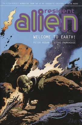 Picture of RESIDENT ALIEN TP VOL 01 WELCOME TO EARTH (C: 0-1-2)