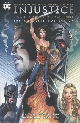 Picture of INJUSTICE GODS AMONG US YEAR THREE COMP COLL TP