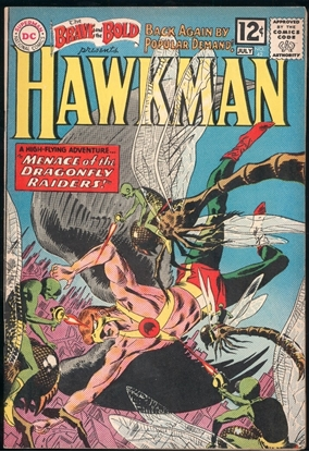 Picture of BRAVE AND THE BOLD HAWKMAN (1955) #42 7.0 FN/VF DC SILVER AGE