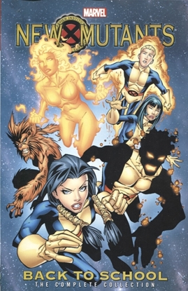 Picture of NEW MUTANTS COMPLETE COLLECTION TP BACK TO SCHOOL