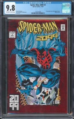 Picture of SPIDER-MAN 2099 (1992) #1 CGC 9.8 NM/MT ORIGIN STORY 1ST PRINT (ID 7437)