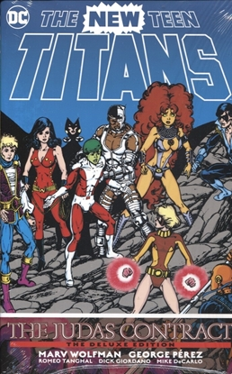 Picture of NEW TEEN TITANS THE JUDAS CONTRACT DLX ED HC