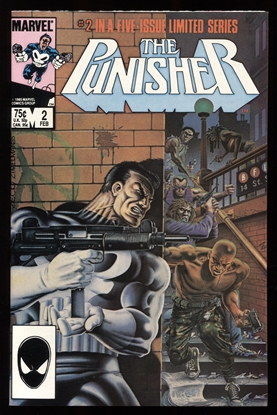 Picture of PUNISHER (1986) #2 9.6 NM+