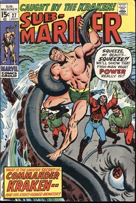 Picture of SUB-MARINER (1968) #27 8.0 VF