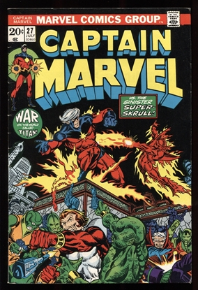 Picture of CAPTAIN MARVEL (1968) #27 6.0 FN