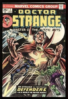 Picture of DOCTOR STRANGE (1974) #2 7.5 VF-