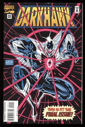 Picture of DARKHAWK (1991) #50 9.2 NM-