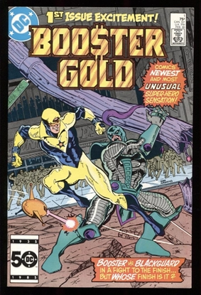 Picture of BOOSTER GOLD (1986) #1 8.5 VF+