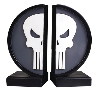 Picture of MARVEL PUNISHER LOGO BOOKENDS