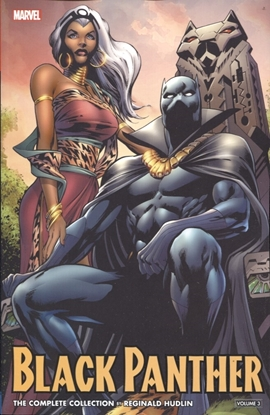 Picture of BLACK PANTHER BY HUDLIN TP VOL 03 COMPLETE COLLECTION
