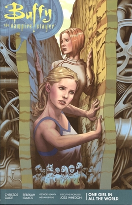 Picture of BTVS SEASON 11 TP VOL 02 ONE GIRL IN ALL WORLD (C: 0-1-2)