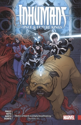 Picture of INHUMANS ONCE AND FUTURE KING TPB
