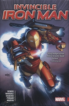 Picture of INVINCIBLE IRON MAN BY BENDIS HC