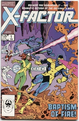 Picture of X-FACTOR (1986) #1 6.5 FN+