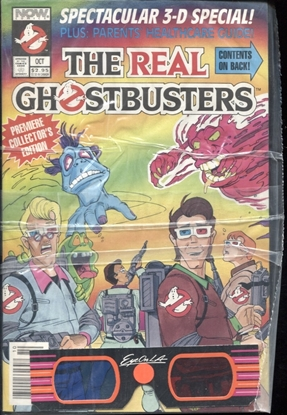 Picture of THE REAL GHOSTBUSTERS 3-D COMIC SEALED
