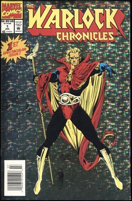 Picture of WARLOCK CHRONICLES (1993) #1 9.4 NM NEWSSTAND EDITION