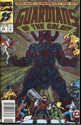 Picture of GUARDIANS OF THE GALAXY (1990) #25 8.5 VF+