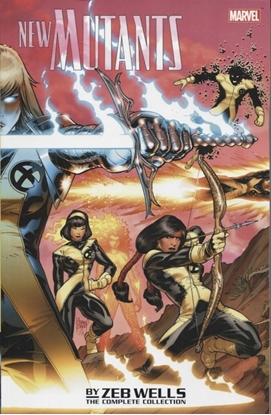 Picture of NEW MUTANTS BY ZEB WELLS TP COMPLETE COLLECTION