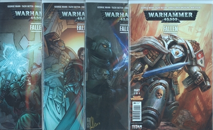 Picture of WARHAMMER 40000 FALLEN #1-4 CVR A BETTIN SET