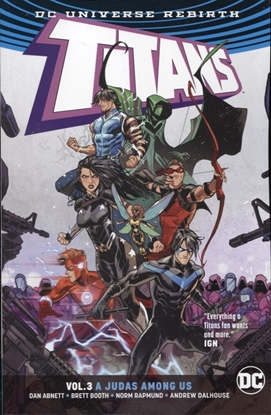 Picture of TITANS TP VOL 03 A JUDAS AMONG US REBIRTH
