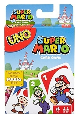Picture of UNO CARD GAME SUPER MARIO BROTHERS VERSION
