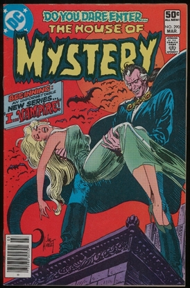 Picture of HOUSE OF MYSTERY (1952) #290 6.0 FN