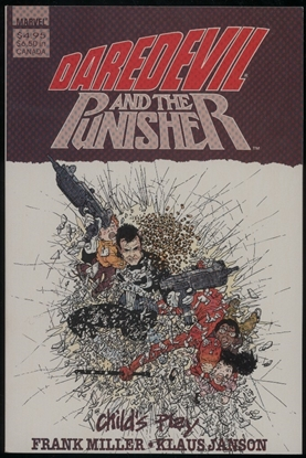 Picture of DAREDEVIL AND THE PUNISHER CHILD'S PLAY ONE-SHOT 9.0 VF/NM