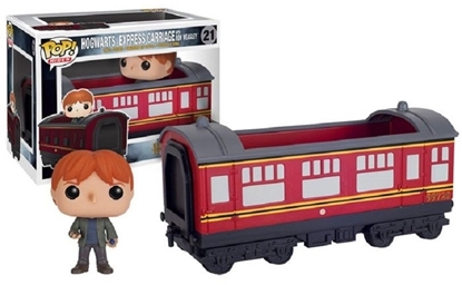 Picture of POP RIDES-HOGWARTS EXPRESS CARRIAGE W/ HERMIONE GRANGER VINYL FIGURE