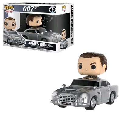 Picture of FUNKO POP RIDES JAMES BOND (SEAN CONNERY) W/ ASTON MARTIN DB5 #44 NEW VINYL FIGURE