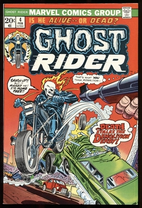 Picture of GHOST RIDER (1973) #4 9.0 VF/NM