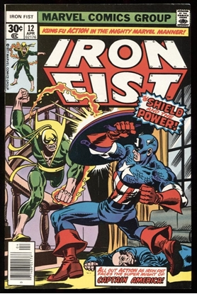 Picture of IRON FIST (1976) #12 9.0 VF/NM