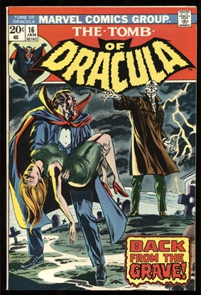 Picture of TOMB OF DRACULA (1972) #16 9.0 VF/NM