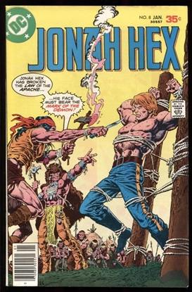 Picture of JONAH HEX (1977) #8 8.0 VF