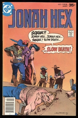 Picture of JONAH HEX (1977) #9 8.5 VF+