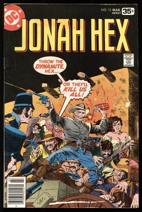 Picture of JONAH HEX (1977) #10 8.5 VF+