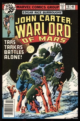 Picture of JOHN CARTER WARLORD OF MARS (1977) #18 9.2 NM-