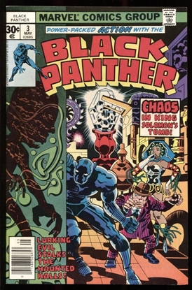 Picture of BLACK PANTHER (1977) #3 9.2 NM-
