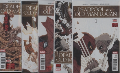 Picture of DEADPOOL VS OLD MAN LOGAN #1-5 1ST PRINT SET