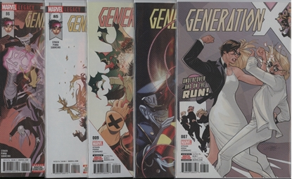 Picture of GENERATION X #7-9 & 85 86 SURVIVAL OF THE FITTEST SET